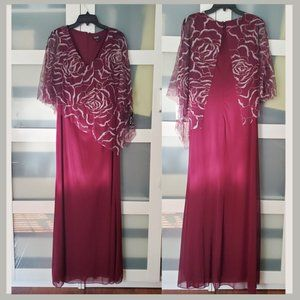SLNY Mother of the Bride Dress Size 10